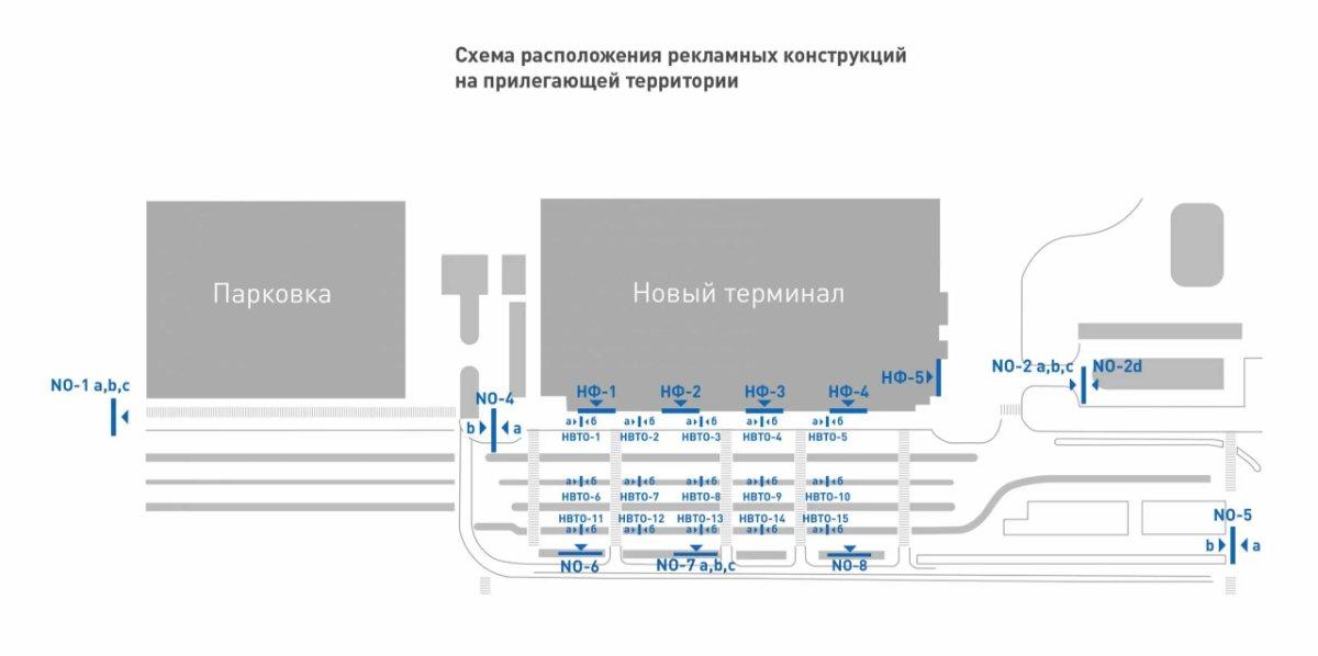 IDMedia Наружная реклама в городе Одесса (Одесская область), Бэклайт в городе Одесса №243403 схема