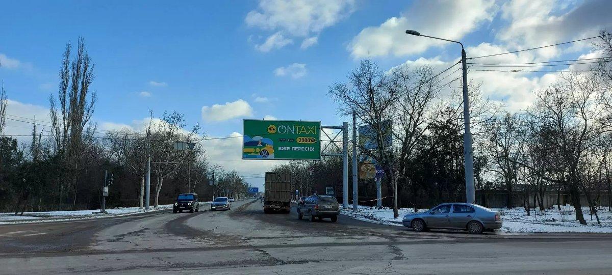 Бэклайт №243407 в городе Одесса (Одесская область), размещение наружной рекламы, IDMedia-аренда по самым низким ценам!