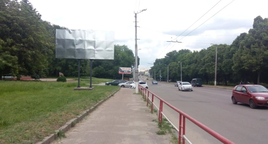 Билборд №243453 в городе Кропивницкий(Кировоград) (Кировоградская область), размещение наружной рекламы, IDMedia-аренда по самым низким ценам!