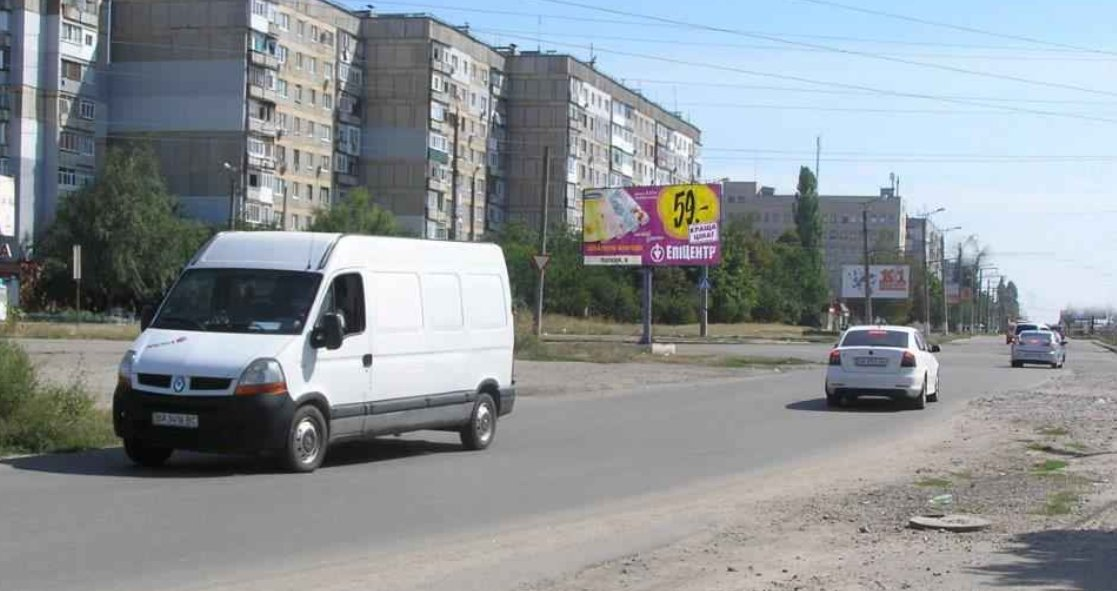 Билборд №243463 в городе Кропивницкий(Кировоград) (Кировоградская область), размещение наружной рекламы, IDMedia-аренда по самым низким ценам!