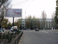 Билборд №2525 в городе Пологи (Запорожская область), размещение наружной рекламы, IDMedia-аренда по самым низким ценам!
