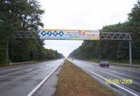 Арка №27680 в городе Житомир трасса (Житомирская область), размещение наружной рекламы, IDMedia-аренда по самым низким ценам!