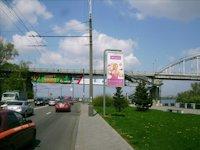 Турникет №4143 в городе Днепр (Днепропетровская область), размещение наружной рекламы, IDMedia-аренда по самым низким ценам!