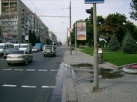 Турникет №4149 в городе Днепр (Днепропетровская область), размещение наружной рекламы, IDMedia-аренда по самым низким ценам!