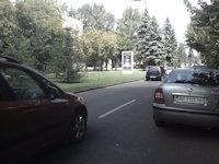Турникет №4157 в городе Днепр (Днепропетровская область), размещение наружной рекламы, IDMedia-аренда по самым низким ценам!