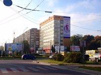 Брандмауэр №44821 в городе Львов (Львовская область), размещение наружной рекламы, IDMedia-аренда по самым низким ценам!