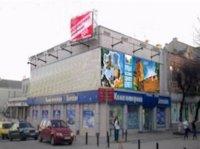 Брандмауэр №44830 в городе Луцк (Волынская область), размещение наружной рекламы, IDMedia-аренда по самым низким ценам!