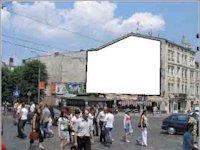 Брандмауэр №45161 в городе Львов (Львовская область), размещение наружной рекламы, IDMedia-аренда по самым низким ценам!