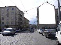 Брандмауэр №45162 в городе Львов (Львовская область), размещение наружной рекламы, IDMedia-аренда по самым низким ценам!