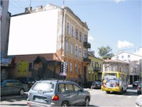 Брандмауэр №45166 в городе Ивано-Франковск (Ивано-Франковская область), размещение наружной рекламы, IDMedia-аренда по самым низким ценам!