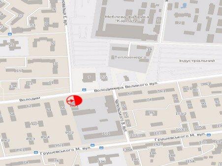 IDMedia Арендовать и разместить Билборд в городе Дрогобыч (Львовская область) №45172 схема