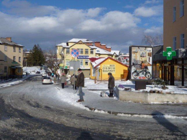 Ситилайт №45194 в городе Трускавец (Львовская область), размещение наружной рекламы, IDMedia-аренда по самым низким ценам!