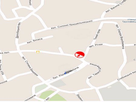 IDMedia Арендовать и разместить Ситилайт в городе Трускавец (Львовская область) №45194 схема