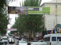 Растяжка №46556 в городе Донецк (Донецкая область), размещение наружной рекламы, IDMedia-аренда по самым низким ценам!