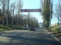 Растяжка №46606 в городе Макеевка (Донецкая область), размещение наружной рекламы, IDMedia-аренда по самым низким ценам!