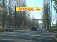 Растяжка №46608 в городе Макеевка (Донецкая область), размещение наружной рекламы, IDMedia-аренда по самым низким ценам!