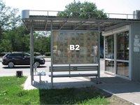 Остановка №48319 в городе Никополь (Днепропетровская область), размещение наружной рекламы, IDMedia-аренда по самым низким ценам!