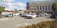 Брандмауэр №52148 в городе Тернополь (Тернопольская область), размещение наружной рекламы, IDMedia-аренда по самым низким ценам!