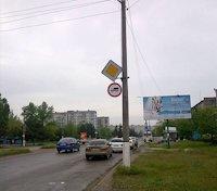 Билборд №52249 в городе Горишние Плавни(Комсомольск) (Полтавская область), размещение наружной рекламы, IDMedia-аренда по самым низким ценам!