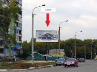 Билборд №53005 в городе Павлоград (Днепропетровская область), размещение наружной рекламы, IDMedia-аренда по самым низким ценам!