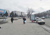 Ситилайт №53017 в городе Павлоград (Днепропетровская область), размещение наружной рекламы, IDMedia-аренда по самым низким ценам!