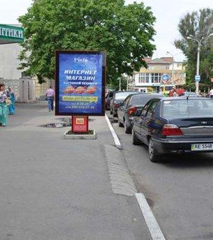 Ситилайт №53018 в городе Павлоград (Днепропетровская область), размещение наружной рекламы, IDMedia-аренда по самым низким ценам!