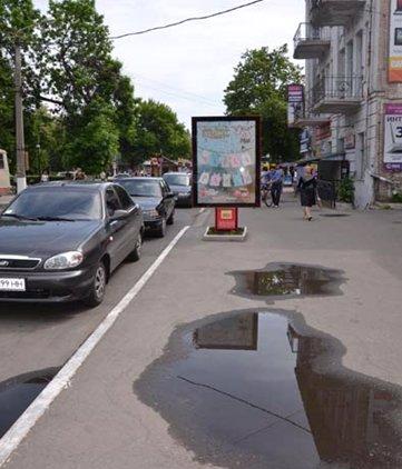 Ситилайт №53019 в городе Павлоград (Днепропетровская область), размещение наружной рекламы, IDMedia-аренда по самым низким ценам!