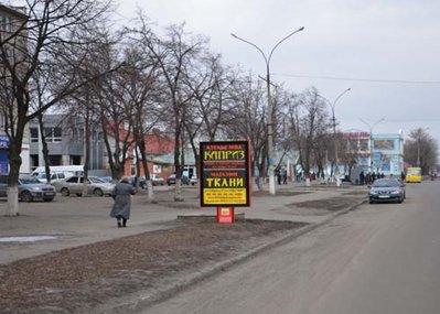 Ситилайт №53027 в городе Павлоград (Днепропетровская область), размещение наружной рекламы, IDMedia-аренда по самым низким ценам!