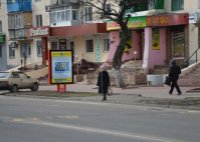 Ситилайт №53030 в городе Павлоград (Днепропетровская область), размещение наружной рекламы, IDMedia-аренда по самым низким ценам!