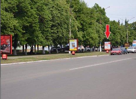 Ситилайт №53034 в городе Павлоград (Днепропетровская область), размещение наружной рекламы, IDMedia-аренда по самым низким ценам!