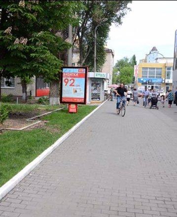 Ситилайт №53040 в городе Павлоград (Днепропетровская область), размещение наружной рекламы, IDMedia-аренда по самым низким ценам!