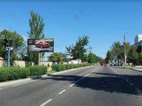 Брандмауэр №53070 в городе Энергодар (Запорожская область), размещение наружной рекламы, IDMedia-аренда по самым низким ценам!