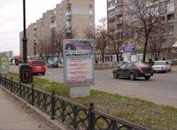 Ситилайт №59633 в городе Лисичанск (Луганская область), размещение наружной рекламы, IDMedia-аренда по самым низким ценам!
