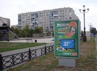 Ситилайт №59634 в городе Лисичанск (Луганская область), размещение наружной рекламы, IDMedia-аренда по самым низким ценам!
