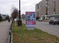 Ситилайт №59636 в городе Лисичанск (Луганская область), размещение наружной рекламы, IDMedia-аренда по самым низким ценам!