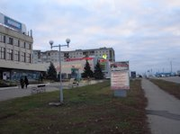 Ситилайт №59643 в городе Лисичанск (Луганская область), размещение наружной рекламы, IDMedia-аренда по самым низким ценам!