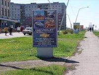 Ситилайт №59645 в городе Лисичанск (Луганская область), размещение наружной рекламы, IDMedia-аренда по самым низким ценам!