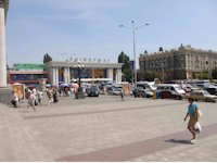 Брандмауэр №60761 в городе Днепр (Днепропетровская область), размещение наружной рекламы, IDMedia-аренда по самым низким ценам!