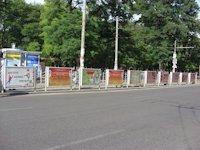Турникет №60769 в городе Днепр (Днепропетровская область), размещение наружной рекламы, IDMedia-аренда по самым низким ценам!