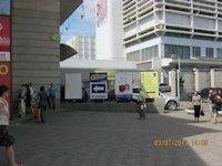 Турникет №60795 в городе Днепр (Днепропетровская область), размещение наружной рекламы, IDMedia-аренда по самым низким ценам!