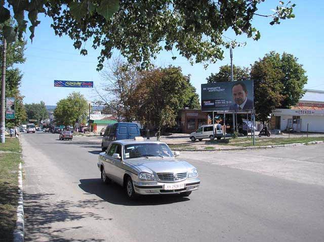 Билборд №66119 в городе Изюм (Харьковская область), размещение наружной рекламы, IDMedia-аренда по самым низким ценам!