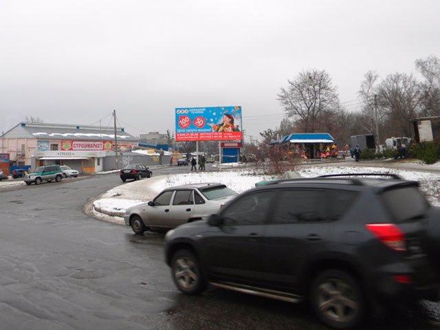 Билборд №66120 в городе Изюм (Харьковская область), размещение наружной рекламы, IDMedia-аренда по самым низким ценам!