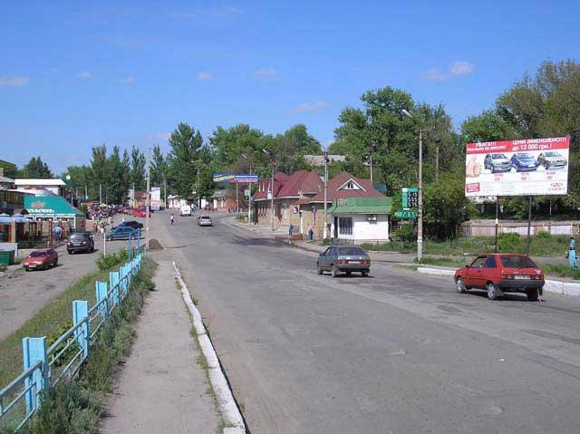 Билборд №66136 в городе Изюм (Харьковская область), размещение наружной рекламы, IDMedia-аренда по самым низким ценам!