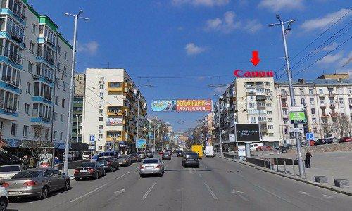 Крыша №66653 в городе Киев (Киевская область), размещение наружной рекламы, IDMedia-аренда по самым низким ценам!