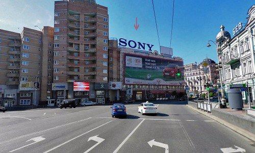 Крыша №66657 в городе Киев (Киевская область), размещение наружной рекламы, IDMedia-аренда по самым низким ценам!