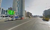 Брандмауэр №66699 в городе Киев (Киевская область), размещение наружной рекламы, IDMedia-аренда по самым низким ценам!