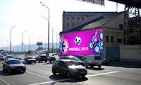 Брандмауэр №66715 в городе Киев (Киевская область), размещение наружной рекламы, IDMedia-аренда по самым низким ценам!