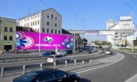 Брандмауэр №66716 в городе Киев (Киевская область), размещение наружной рекламы, IDMedia-аренда по самым низким ценам!