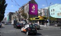 Брандмауэр №66719 в городе Киев (Киевская область), размещение наружной рекламы, IDMedia-аренда по самым низким ценам!