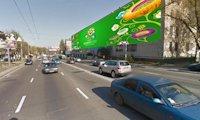 Брандмауэр №66729 в городе Киев (Киевская область), размещение наружной рекламы, IDMedia-аренда по самым низким ценам!